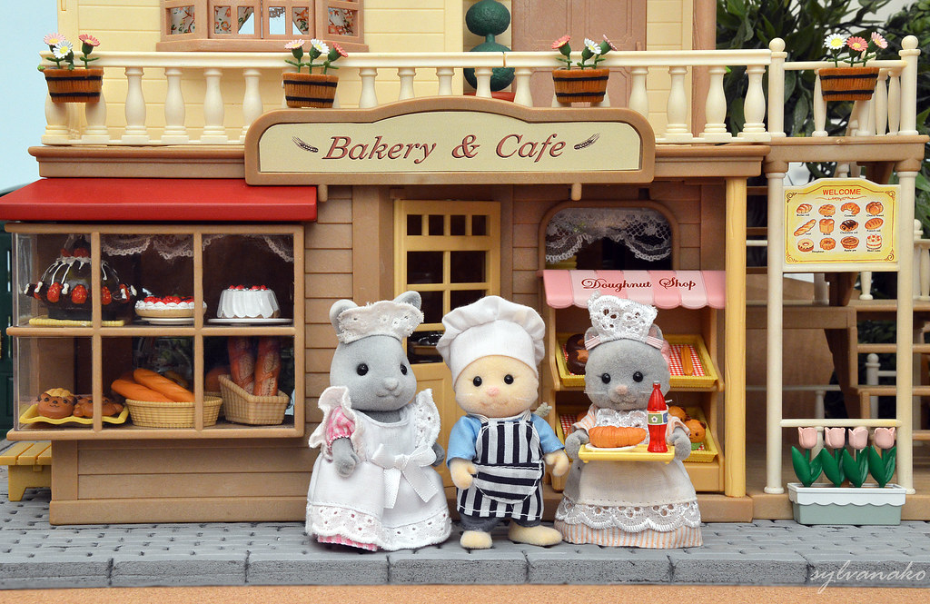 Sylvanian Families Bakery Cafe Shop Sylvanako Flickr
