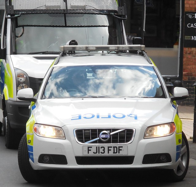 Nottinghamshire Police (FJ13 FDF)