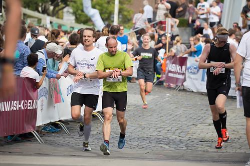 Zieleinlauf Gerolsteiner Brückenlauf 2016 | by wuestenigel