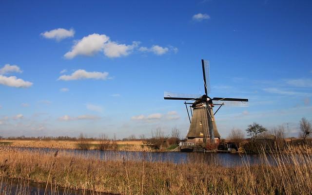 Nederland - Zuid-Holland - Kinderdijk - Overwaard No. 2 - 1984