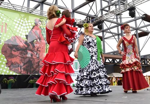 Rocieras del Pino Pasarela Andaluza VI Feria Abril 2013 Las Palmas de Gran Canaria  DSC_0193