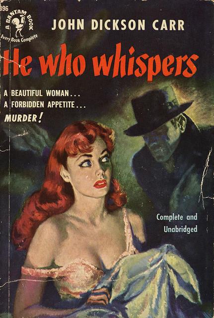 Bantam Books 896 - John Dickson Carr - He Who Whispers