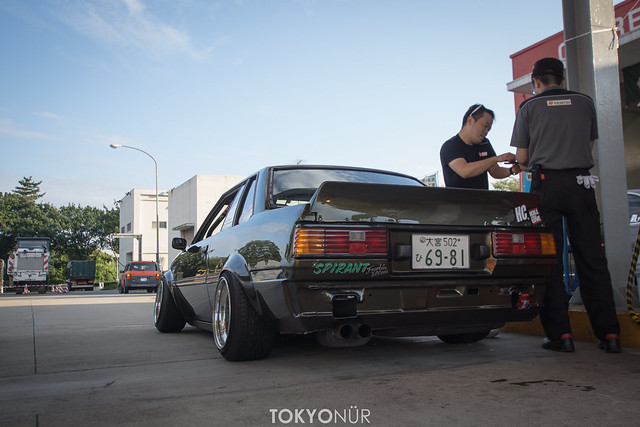 ROCKN' (CO)ROLLA - MITSUMORI'S 1979 TOYOTA SPRINTER at NIKKO CIRCUIT