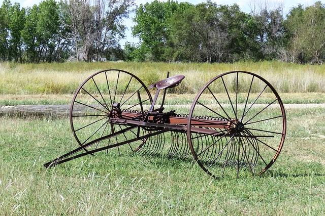Vintage Hay Rake