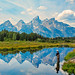 Andrea Tsakrios - Schwabacher's Landing/Snake River, Grand Teton National Park, Wyoming - My brother fishing in the perfect spot.
