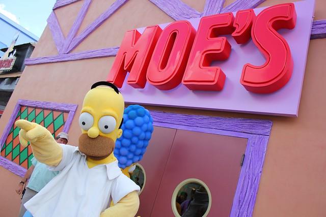 Simpsons Fast Food Arbys