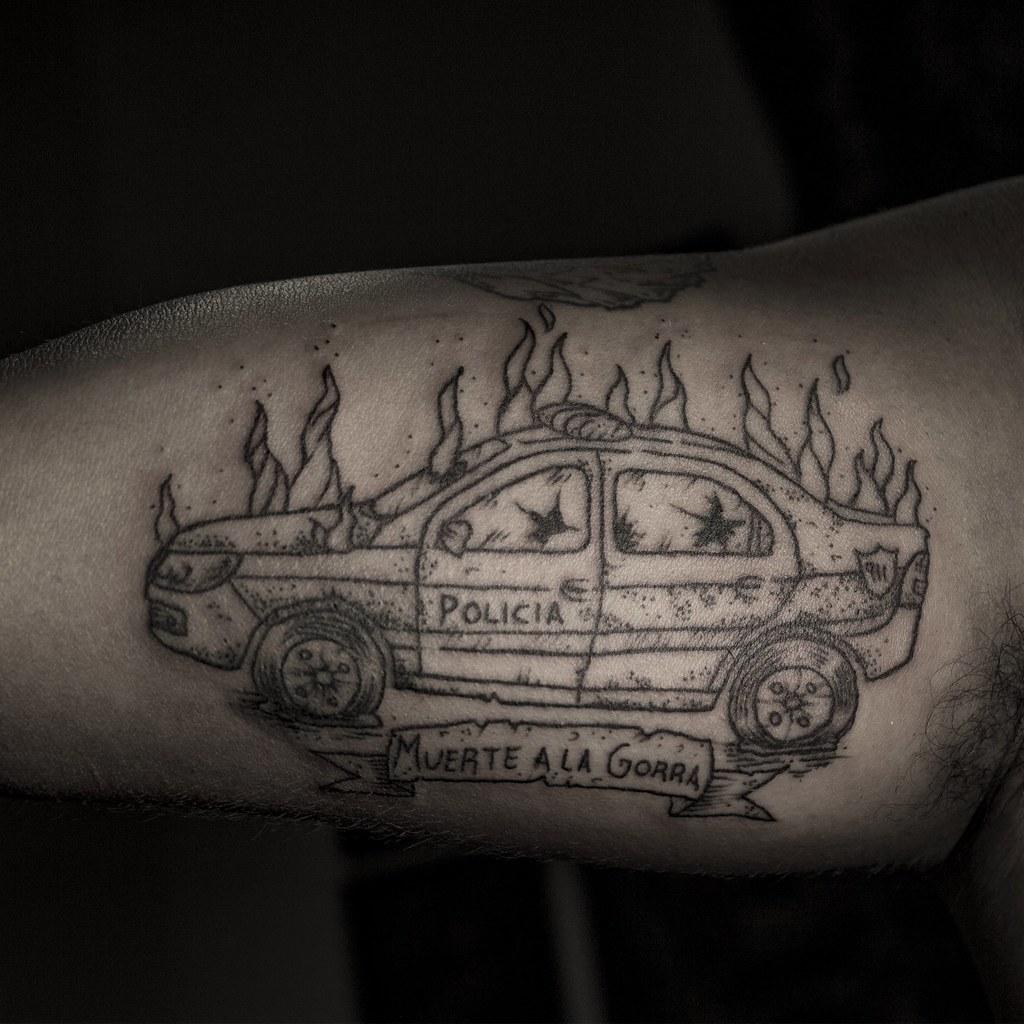 Franco Acab 1312 Piko Tattoo Leandro Cuaderno Flickr