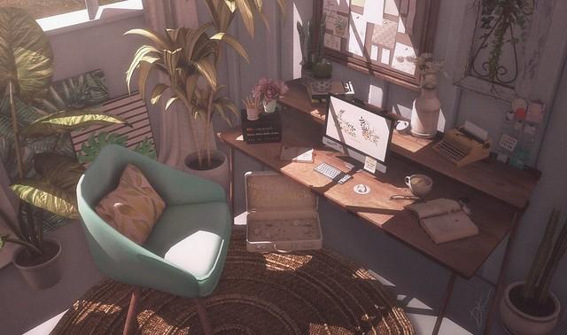 A Private Little Workspace.