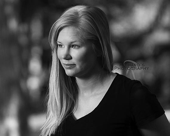 Black and White Photography Women's Headshots San Antonio