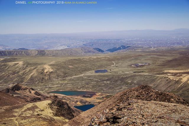 Panorama desde Chacaltaya