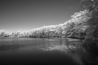 Upper mystic lake IR