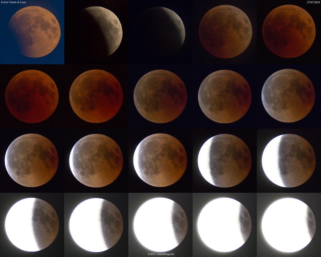 super popolare 100% autenticato guarda bene le scarpe in vendita Fasi Eclissi Totale di Luna del 27.7.2018   Telescopio: TS E ...