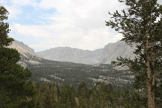 1082 Looking up the Crabtree Lakes drainage toward Mount Newcomb from the John Muir Trail | by _JFR_