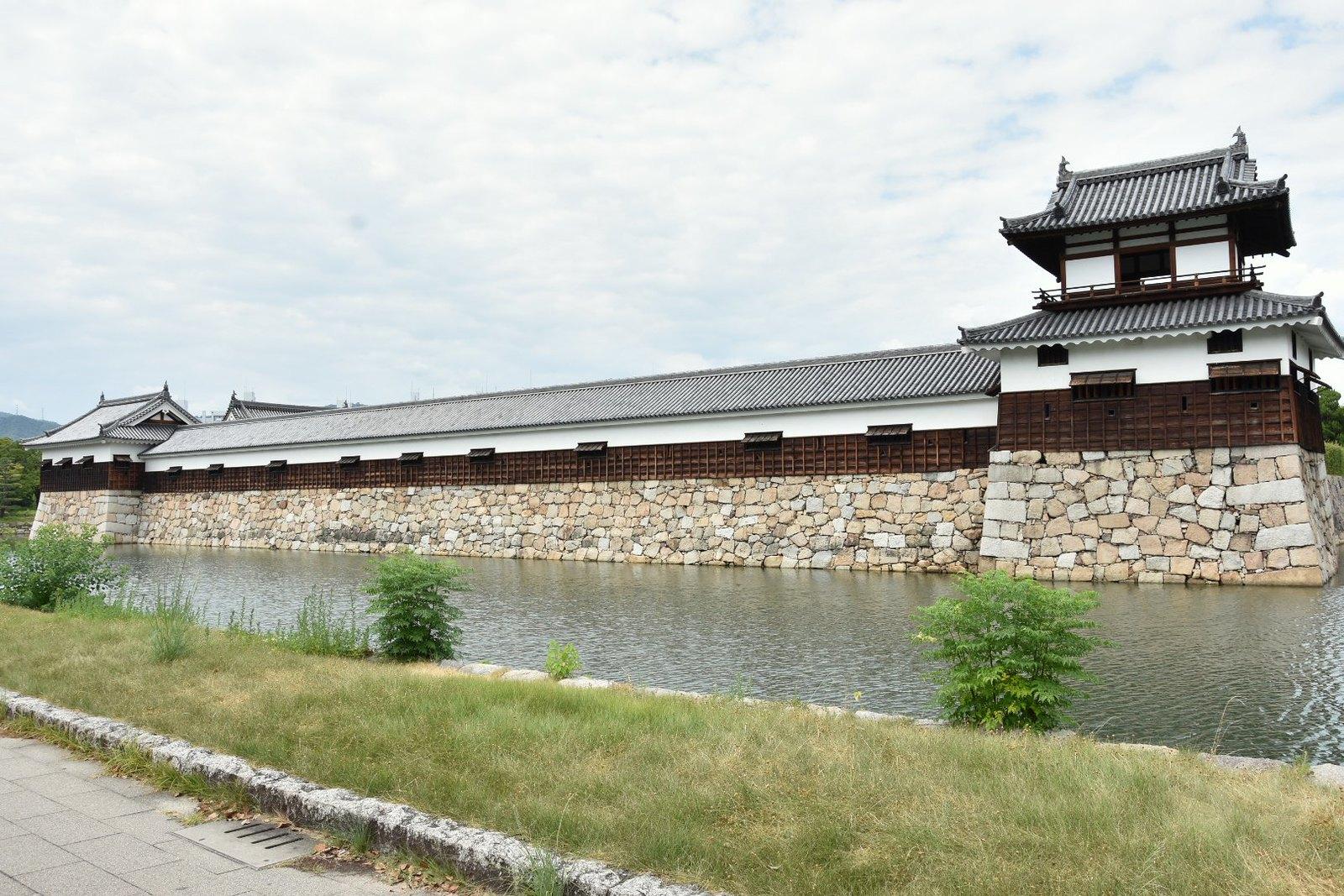 Hiroshima - enceinte du château