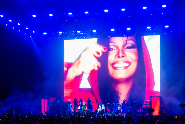 Janet Jackson : State Of The World Tour 2018 - Panorama NYC Music Festival, New York (2018)