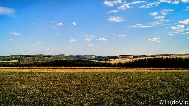 Vue sur le Luxembourg