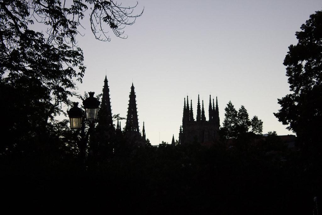 Burgos skyline.