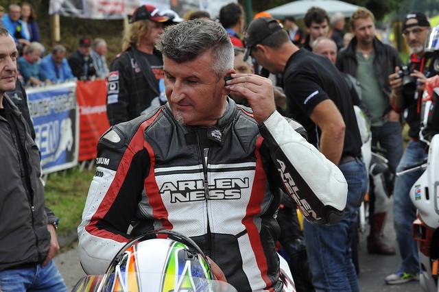 Karl Truchsess 8-facher Staatsmeister Oldtimer Grand Prix Schwanenstadt (c) 2016 Бернхард Эггер фото :: ru-moto images 2755