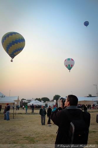 Festival de Globos en San Pedro Cholula, Puebla