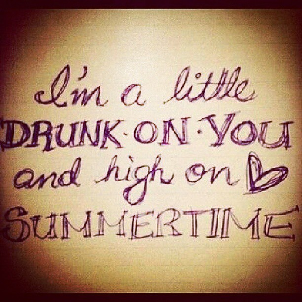 pinquotes #song #lyrics #country #drunkonyou #summer #me ...