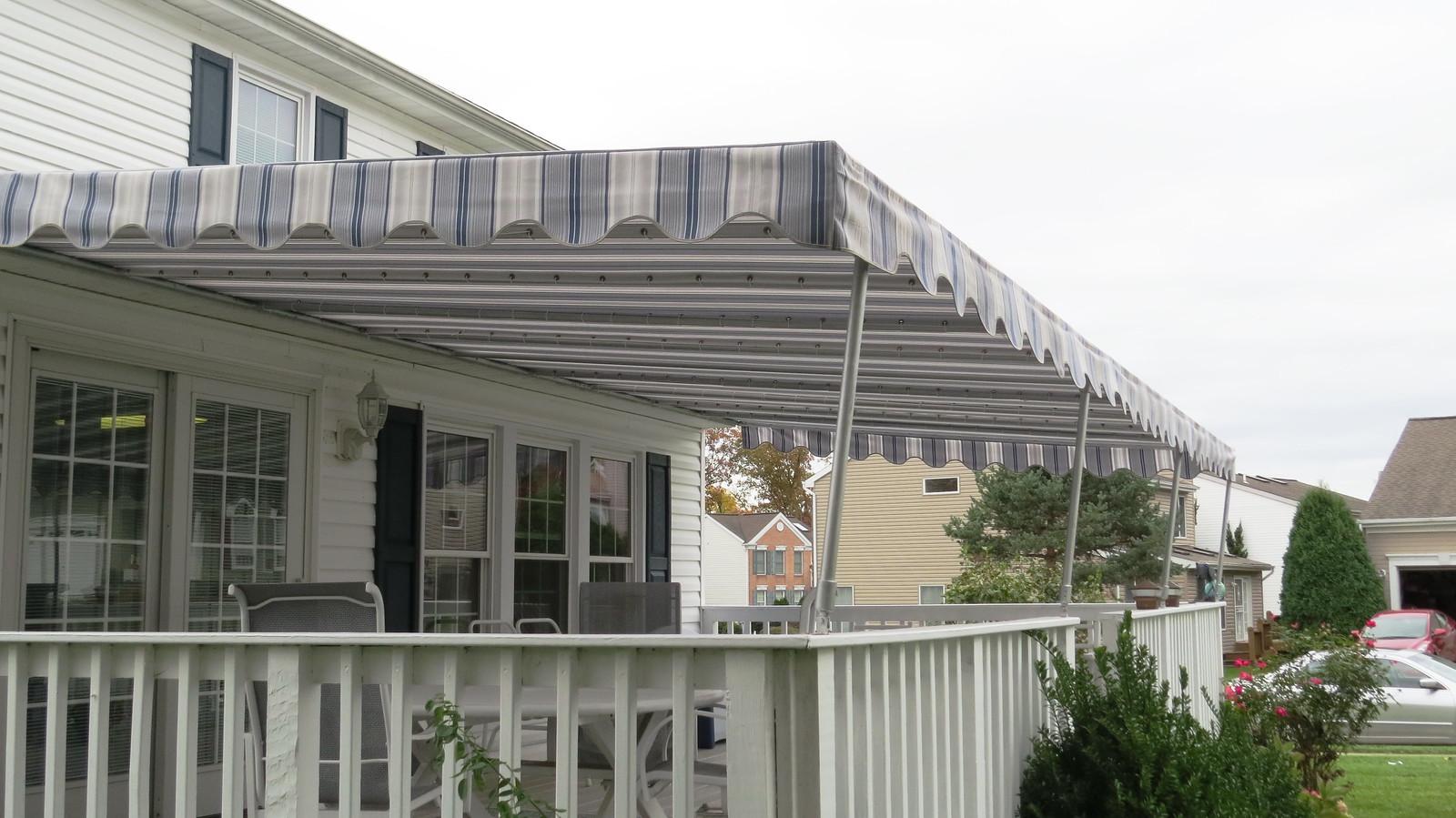 Deck Awning Maryland-Hoffman Awning