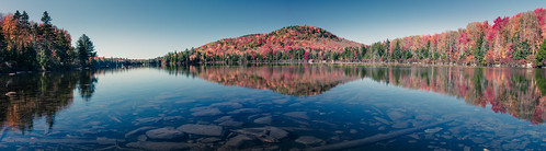 pond autumn landscape mountains vermont groton water reflections foliage grotonstatepark panorama fall orange kettlepond