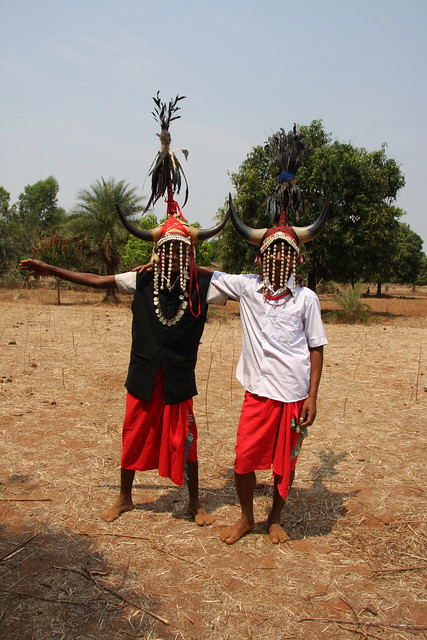 Tribal dancers in Gudiapara village, Odisha