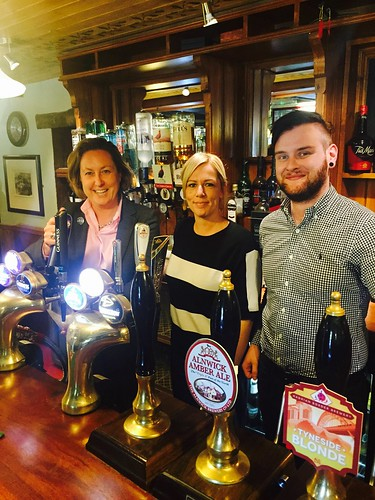 AMT visiting Eglingham's great pub The Tankerville Arms Sept 2016 | by annietrev2010