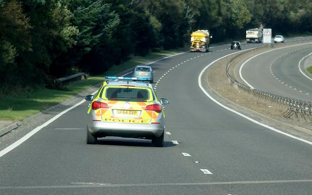 SF64 OVD Scottish Police