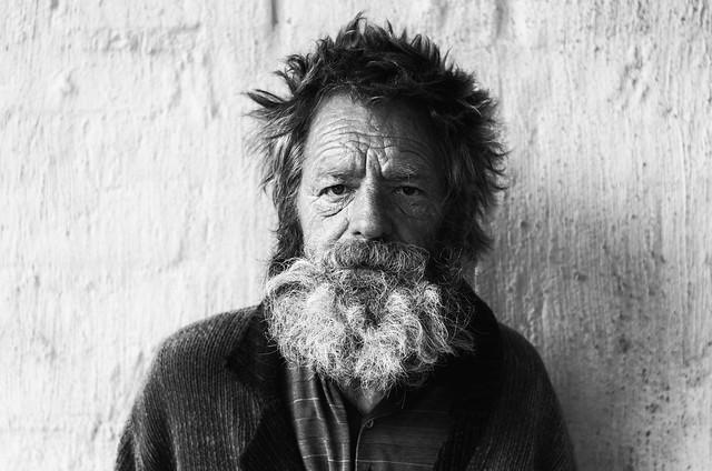 Jaap, homeless drifter.