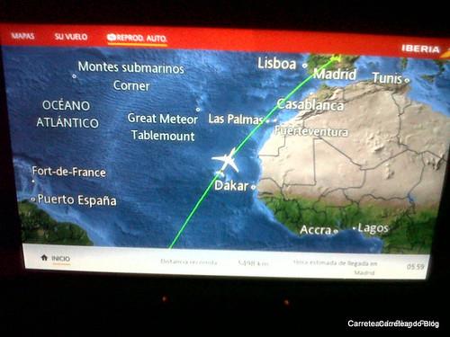 GRU - MAD con Iberia