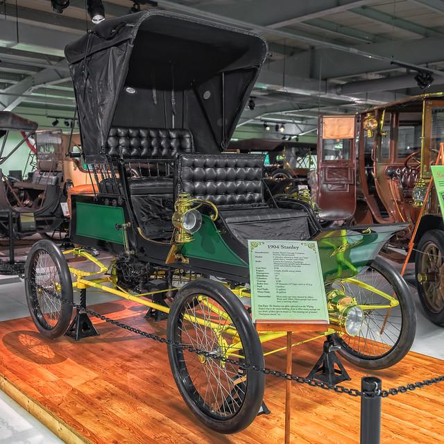 1904 Stanley - Seal Cove Auto Museum (Mount Desert Island, Maine)