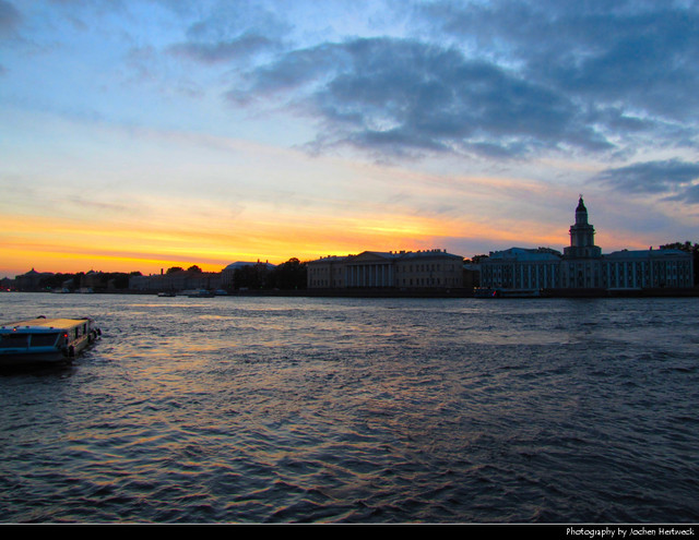 Sunset, St. Petersburg, Russia