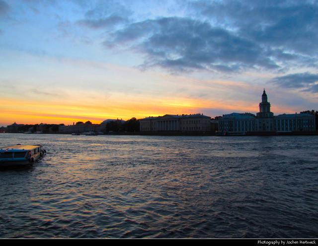 Sunset, St. Petersburg, Russia