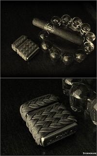 paracord zippo wrap | by Stormdrane