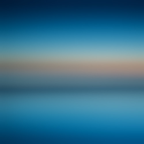 Blurred Sea & Sky | by Brett Jordan
