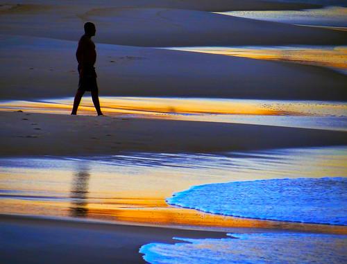 sunset beach riodejaneiro reflections colours dunes wave peaple flamengobeach smalldunes