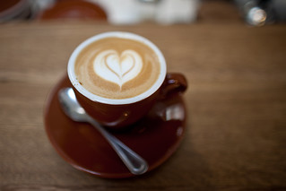 cappuccino with four barrel coffee at the mill in san francisco | by protographer23