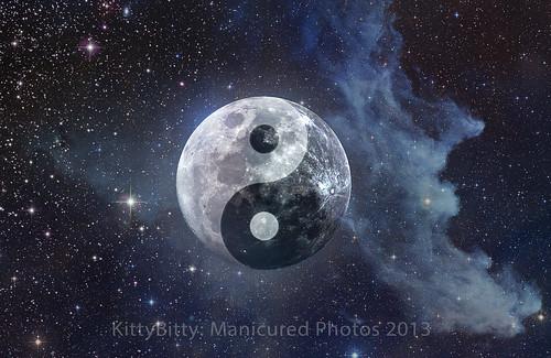 Yin Yang Moon