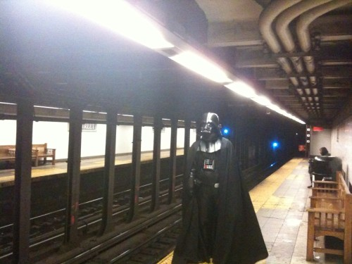 Luke...I am... waiting for the subway