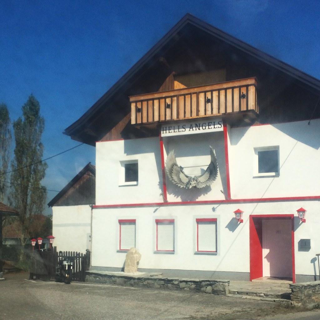 Hells Angels House   in Austria   ♫~♥~Doris~♥~♫   Flickr