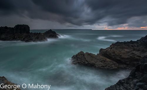 tramore ireland sea waves water rocks longexposure bay waterford newtowncove