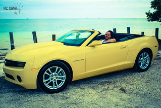 Behind The Wheel of Bumblebee   by Nic Taylor Photography