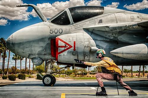 sky museum clouds nikon aircraft military palmsprings jet d200 hdr hss palmspringsairmuseum a6intruder sliderssunday hbmike2000 someverystiffdude hehadanattitudetoowouldntevenlookatme ltcraigmunsenmunster afterallthattroublefornewunderweariaccidentallyleftthemonthehoodofthejet