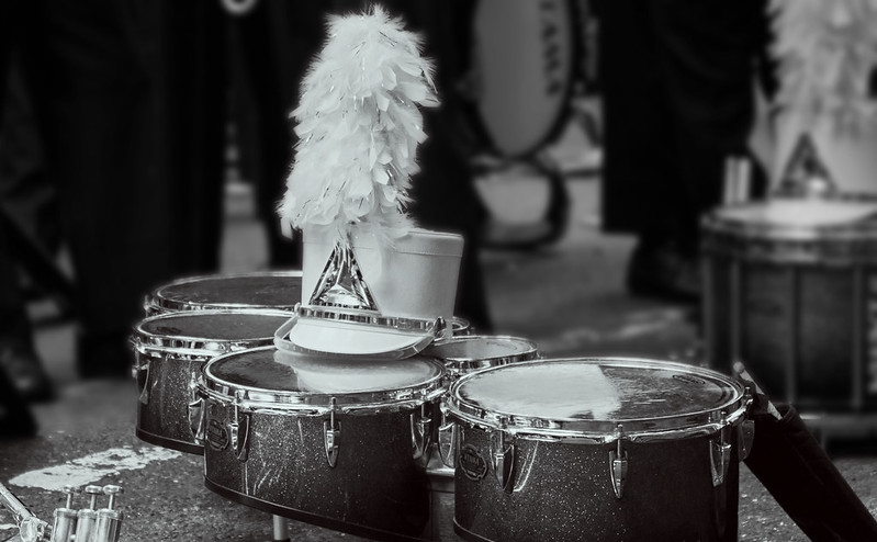 Drums are waiting