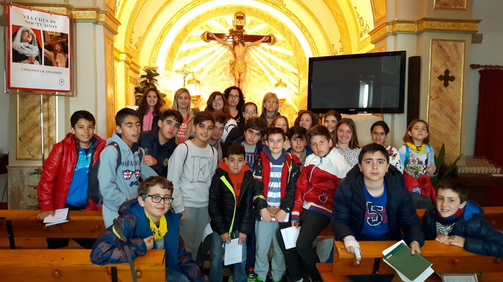 (2016-03-18) - aVisita ermita alumnos Pilar, profesora religión 9´Octubre - María Isabel Berenguer Brotons (06)