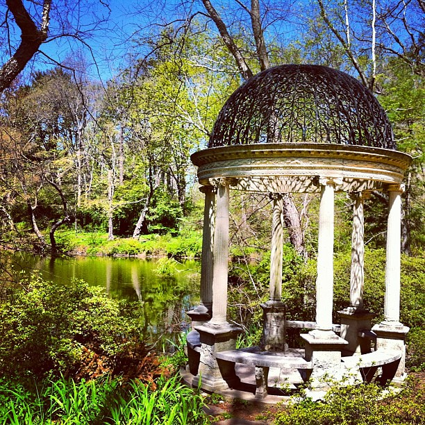Old Westbury Gardens Events: Temple Of Love At Old Westbury Gardens #worldplaces #westb