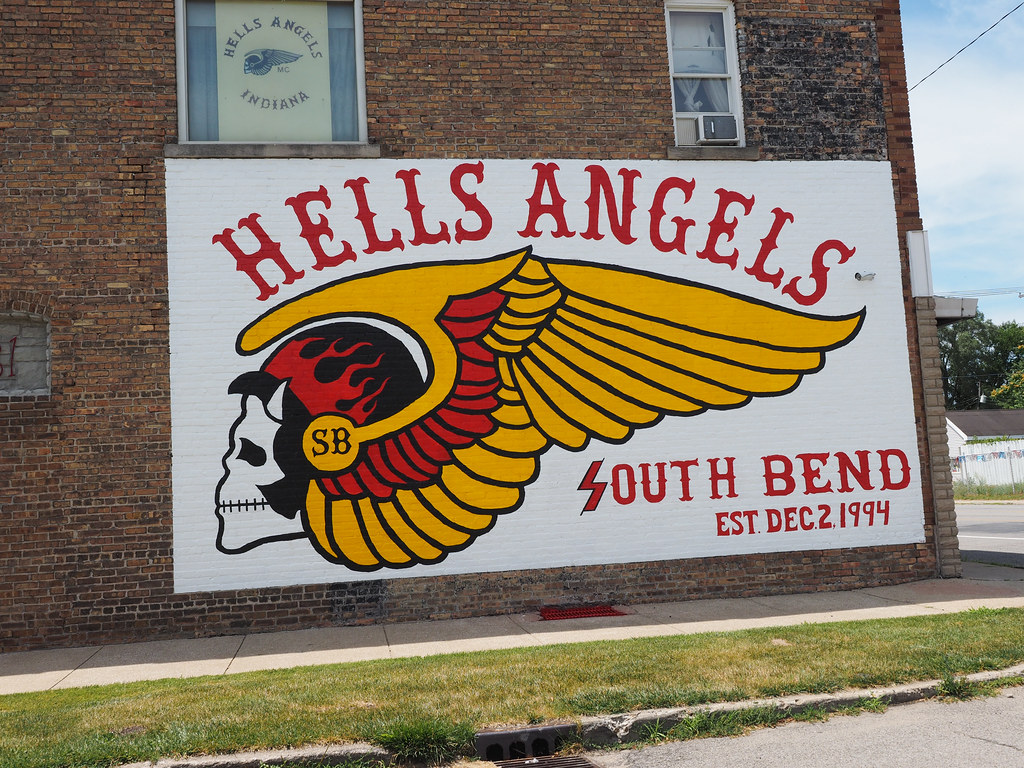 Hells Angels   South Bend, Indiana  1994   Kathy Nobles   Flickr