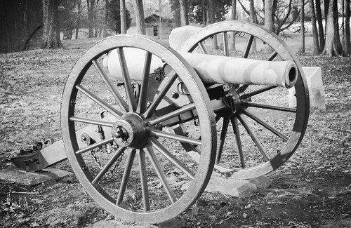 Cannon Seen on Snodgrass Hill