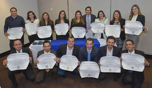 Acto Entrega Diplomas Universidad de Tulane MBA Global 2016 Bogotá